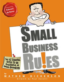 Small Business Ru!es by Mathew Dickerson