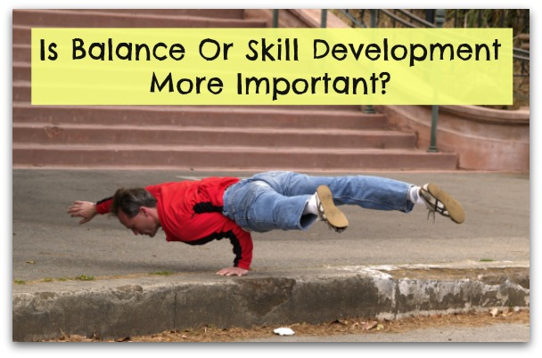 Balance Or Investment In Skill Development