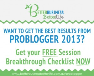 Problogger Free Opt In Gift For PBEvent Attendees