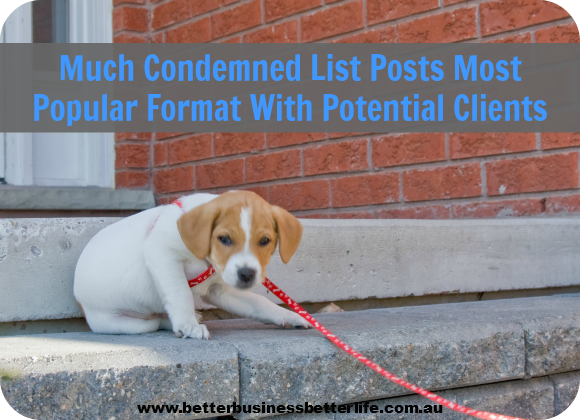 List Posts Popular With Readers