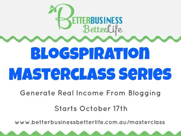 Blogging Masterclass Series
