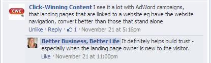 Landing Page Branding Feedback