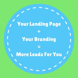 Lead generation, opt in conversion, landing pages and branding