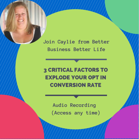 Conversion Rate Audio Recording