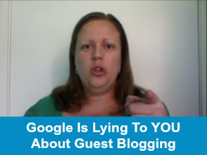 Guest blogging is a powerful strategy to building your mailing list, regards of Google rankings