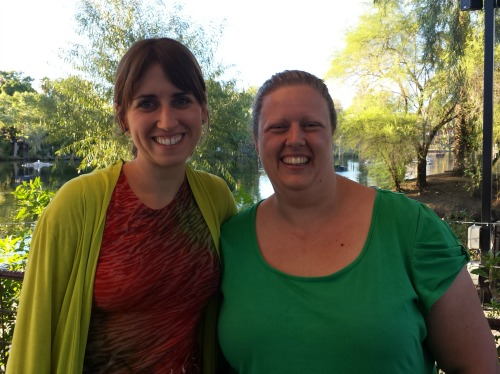 Kimberly Kling and Caylie Price met with Kim becoming web developer for Caylie's clients