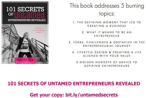 101 Secrets Of Untamed Entrepreneurs Revealed Featuring Caylie Price 500