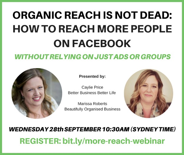 Organic reach is not dead: how to reach more people on Facebook, without having to relying on just groups and ads.