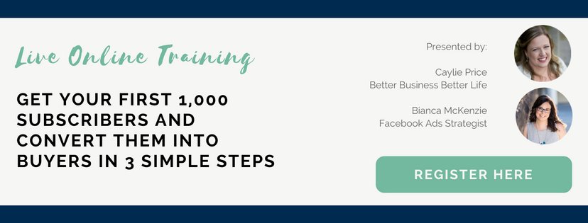 Get 1k subscribers and convert them into buyers in three simple steps
