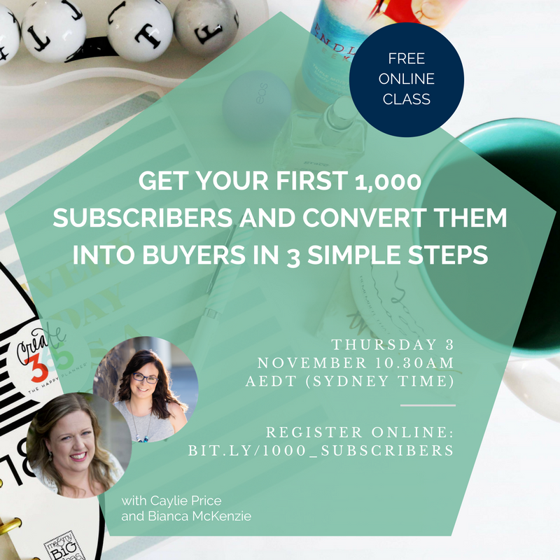 Get 1,000 subscribers and convert them into buyer in three simple steps.