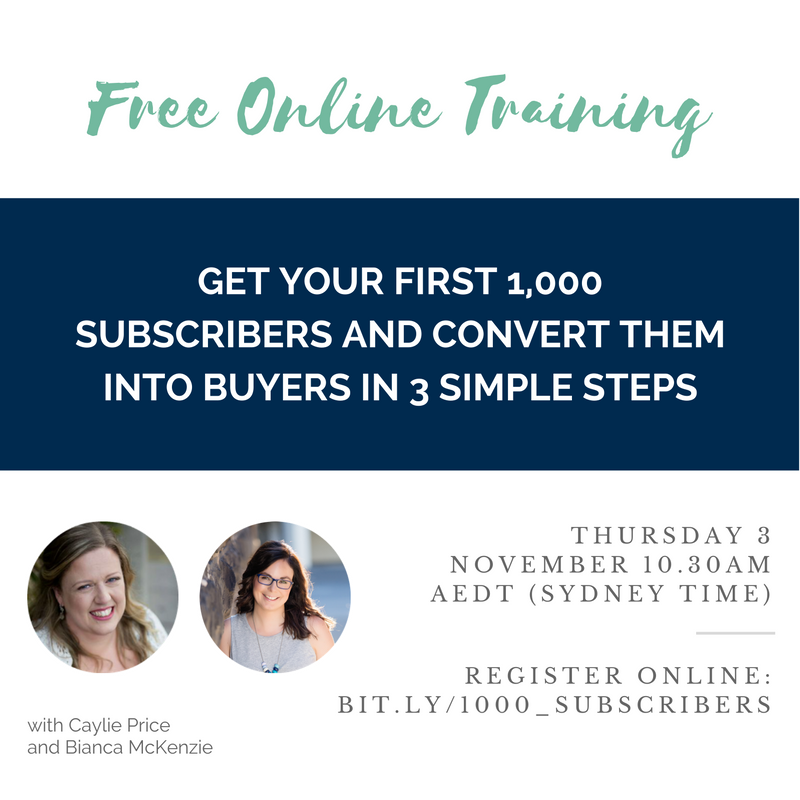 Get 1,000 subscribers and convert them into buyers in 3 simple steps