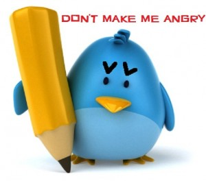 Angry Twitter Bird - Automatic Direct Messaging